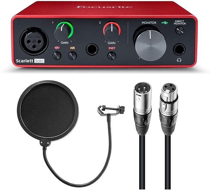 Top 10 Focusrite Musician's Home Recording Starter Kit