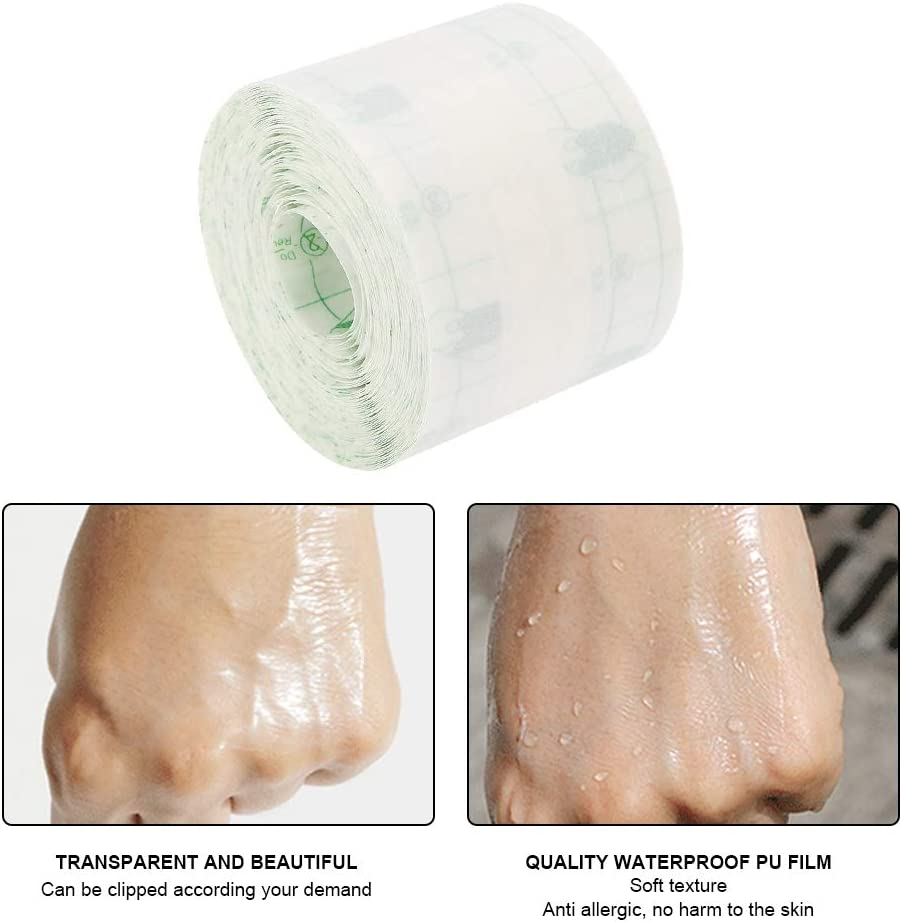 Waterproof Tape Transparent Adhesive Fastener Band Plaster Wound Fixator