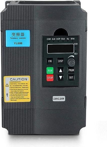 AC220//380V de una sola fase//3-Fase Motor CNC inversor de Unidad de Frecuencia Variable VFD