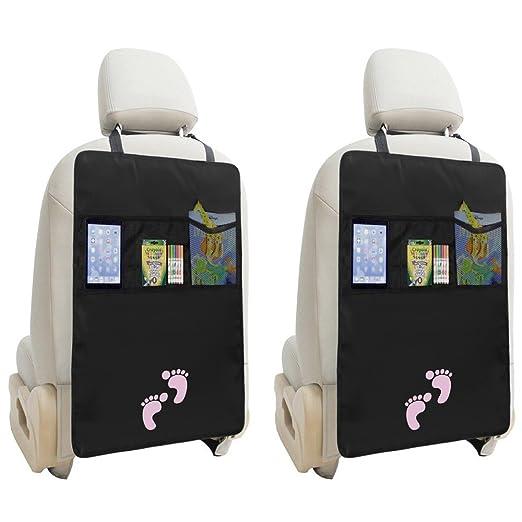 3 opinioni per iRegro 2 Packs Protettori di Seggiolini Auto confezioni del sedile posteriore