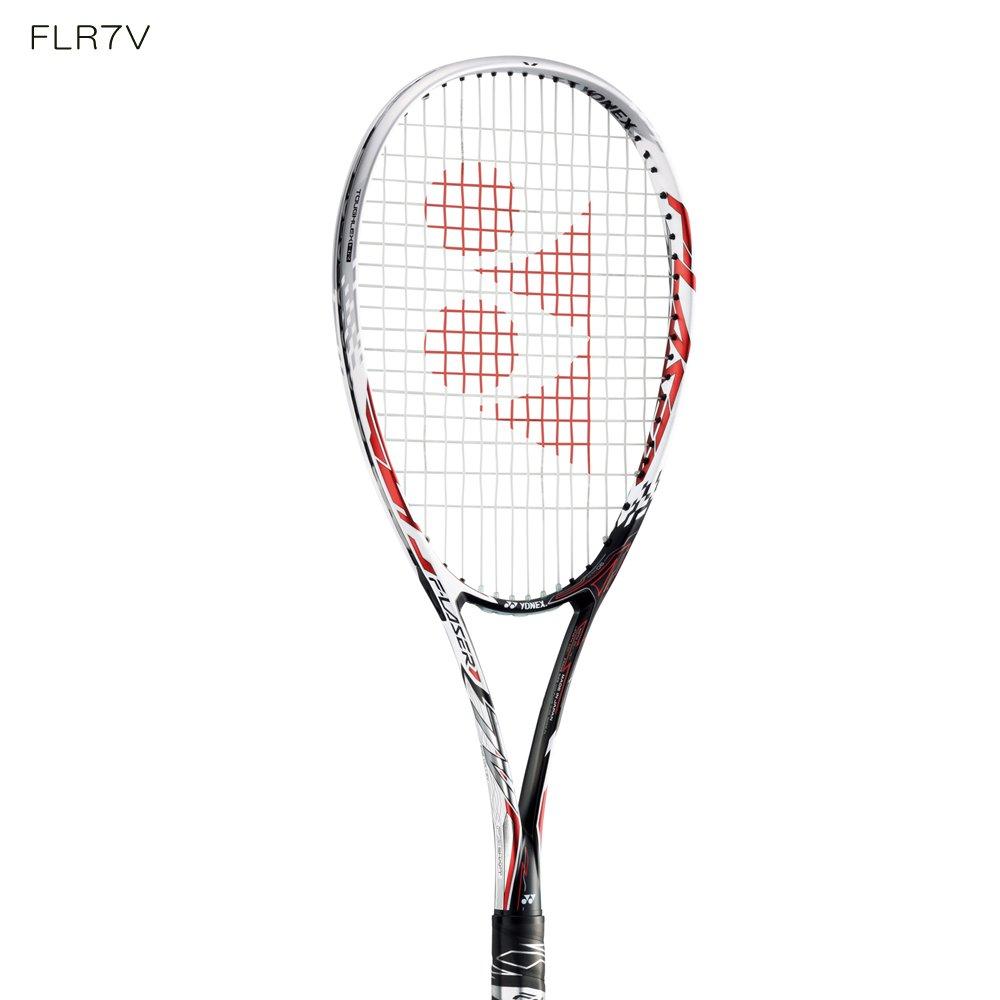ヨネックス/YONEX エフレーザー7V+ミクロパワー張り上げセット FLR7V 前衛用 ボレーモデル ソフトテニスラケット 軟式テニスラケット 2017年3月発売 B071223K96  UL1-軽めで細めのグリップ