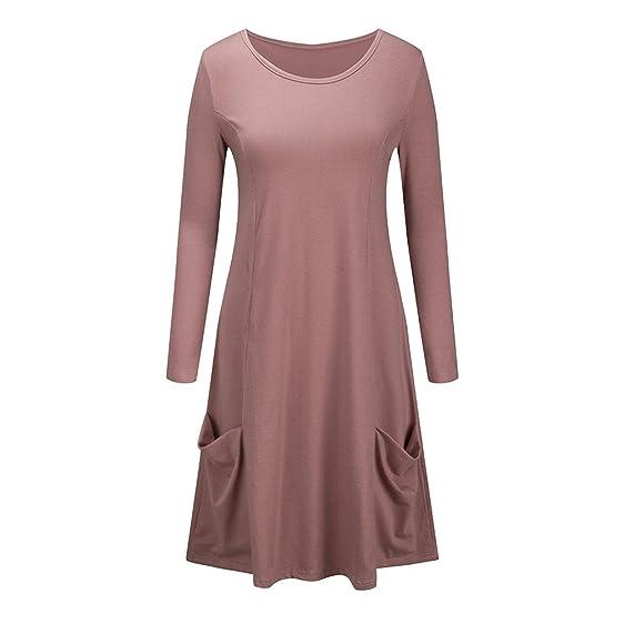 Kleid braun 46