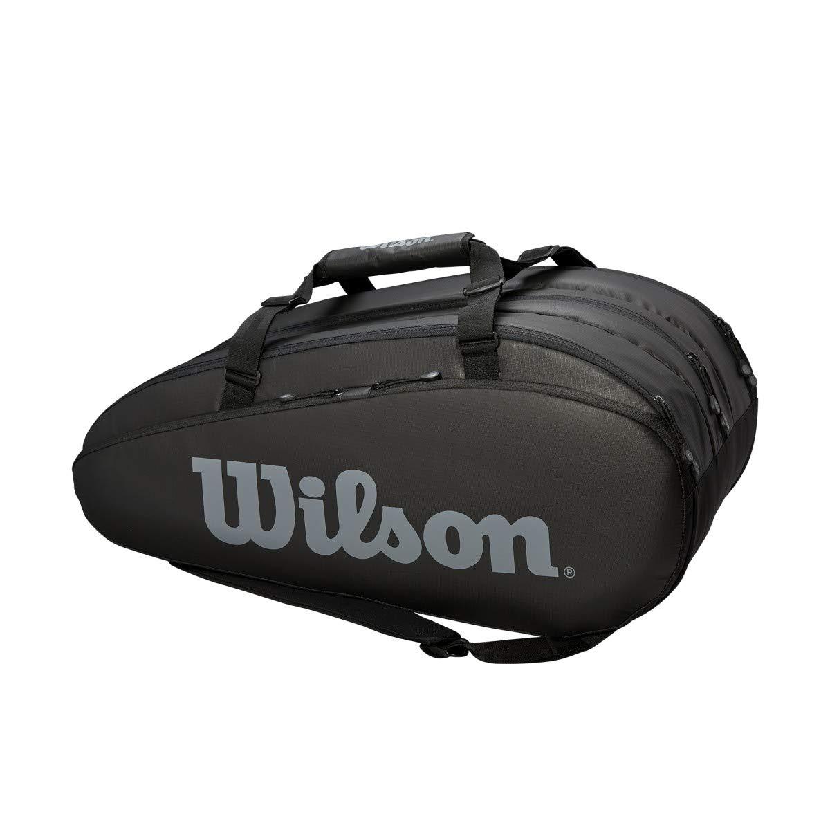 【新作からSALEアイテム等お得な商品満載】 Wilson(ウイルソン) テニス バドミントン ラケットバッグ TOUR TOUR 3 3 COMP(ツアー3コンプ) B07KRJHR29 ラケット15本収納可能 WRZ849315 ブラック/グレー B07KRJHR29, ジーニングハウス JACK本店:06ddd0ef --- svecha37.ru