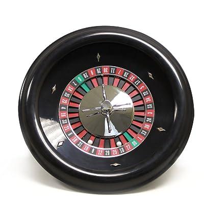 45,7cm Premium en bakélite Roulette avec 2boules de roulette par Brybelly Sabot