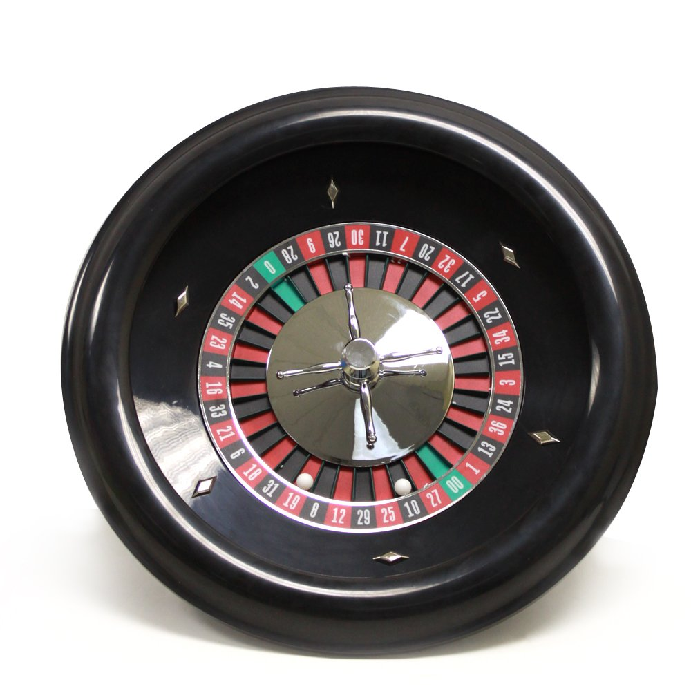 18'' Premium Bakelite Roulette Wheel with 2 Roulette Balls by Brybelly by Brybelly