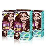 Schwarzkopf PURE COLOR Permanent Gel Coloration No.6.80 RED VELVET ( 3er Pack )