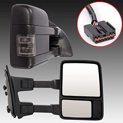 Towing Mirrors For   Ford F F F F Super Duty