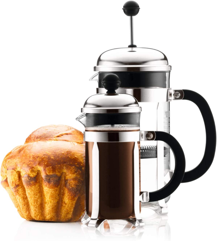 bodum 1923 16us4 chambord 12 ounce mini french press coffee maker