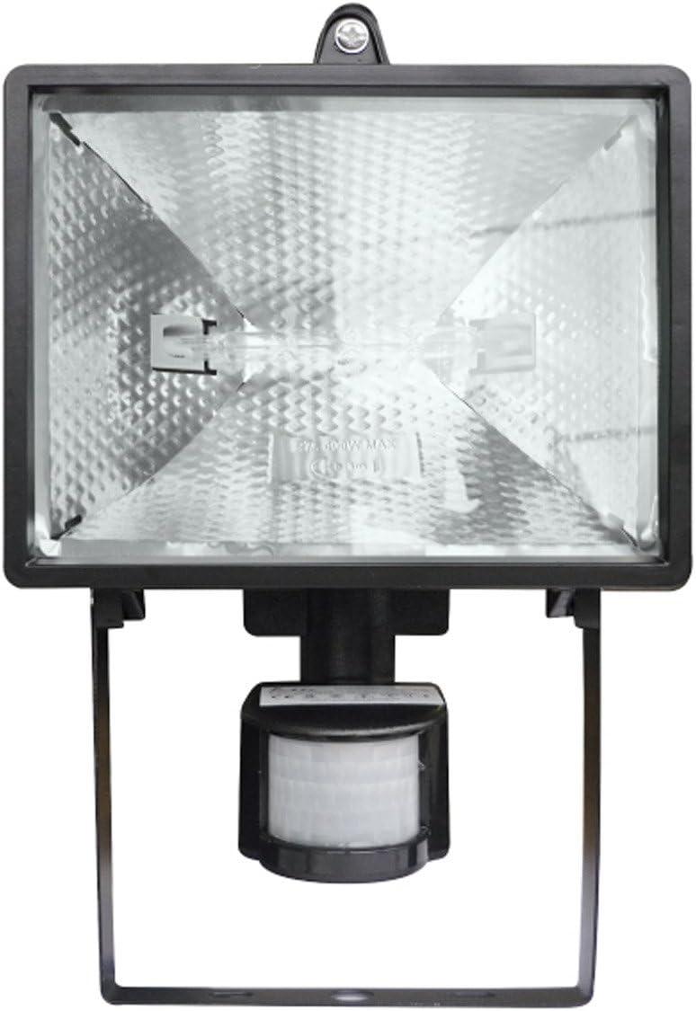 Idk PJHE-330IR - Foco proyector halógeno exterior (ecológico, con ...