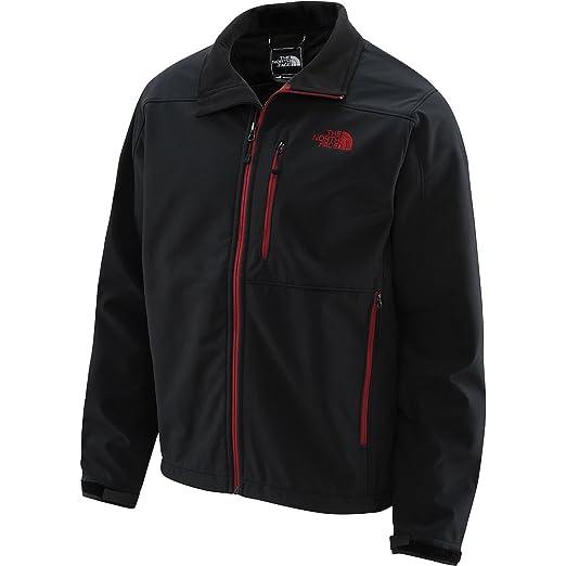 f98bc3192 Men's The North Face Apex Bionic Jacket Black/Biking Red Size Medium