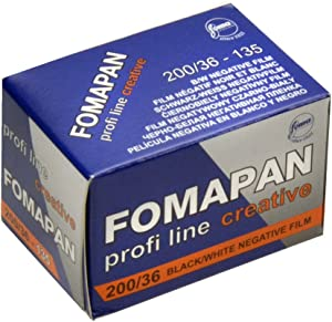 FOMAPAN 200/36 CEATIVE BLACK AND WHITE FILM 135