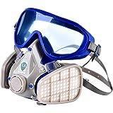 防毒マスク、防塵マスク、フルフェイス式、塗装作業用マスクセット