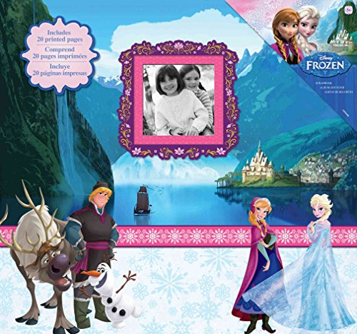 EKSuccess 51 – 00120 Disney 's Frozen Post Bound álbum Scrapbook, 30,5 x 30,5 cm