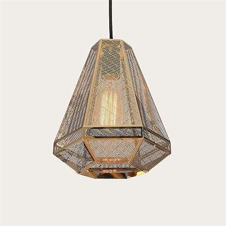 Amazon.com: Lámpara colgante de metal geométrico, contador ...