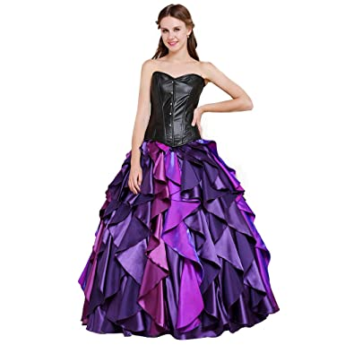 94363a44f46ca CosplayDiy Women's Dress for The little mermaid Sea Witch Ursula Cosplay
