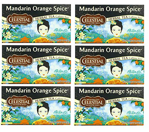 Celestial Seasonings Herbal Tea, Mandarin Orange Spice,(6 Pack) ()