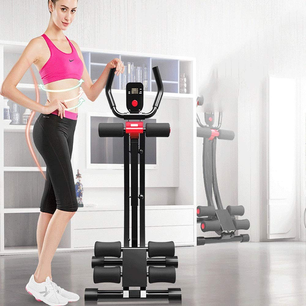 Byx- Abdominal Lazy Thin Belly Artifact Exercise Fitness Equipment Home Exercise Abdominal Muscles Men and Women Thin Waist Beauty Waist Machine -Roller Wheel (Color : A) by Byx- (Image #7)