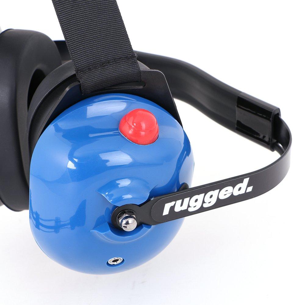 Rugged Radios H42-LTBLUE Light Blue 2-Way Headset by Rugged Radios (Image #6)