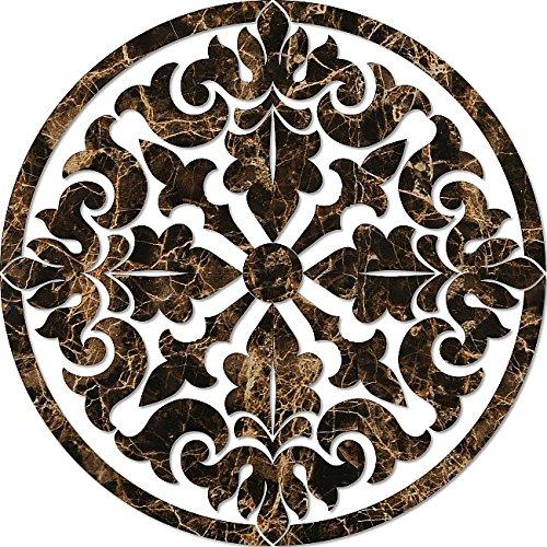 Baroque Medallion Porcelain Swimming Pool Mosaic (36