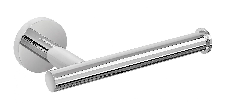 Nicol 7121200 EOS Inodoro Pared de Papel higiénico (latón Cromado, Soporte para Rollos de Papel higiénico, Brillante, Metal, Cromo, ...