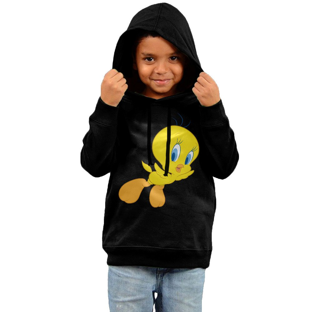 Toddler Funny Tweety Bird 100% Cotton Long Sleeve Hoodie