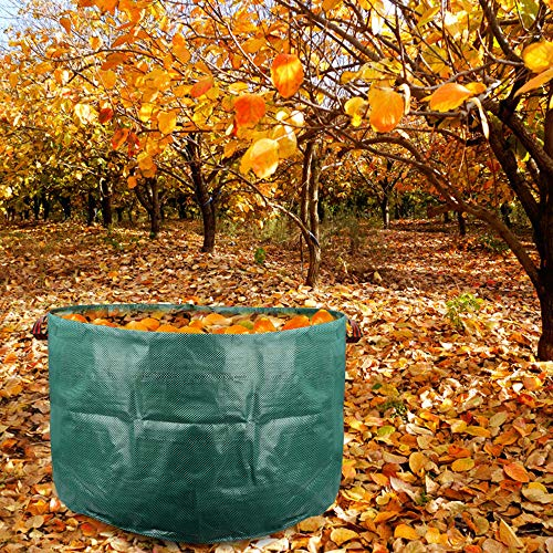 AloPW Yard Waste Bags 7942cm Garden Storage Bag Planting Growing Bags Grass Leaves Cleaning Bag Home Garden Supplies