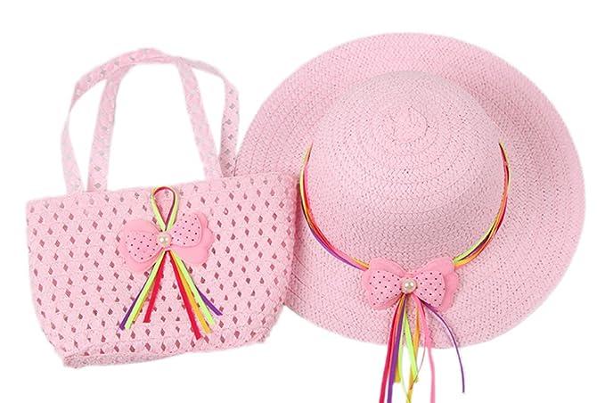 Dantiya-moda cappelli della spiaggia bambina 433ae2fb658e
