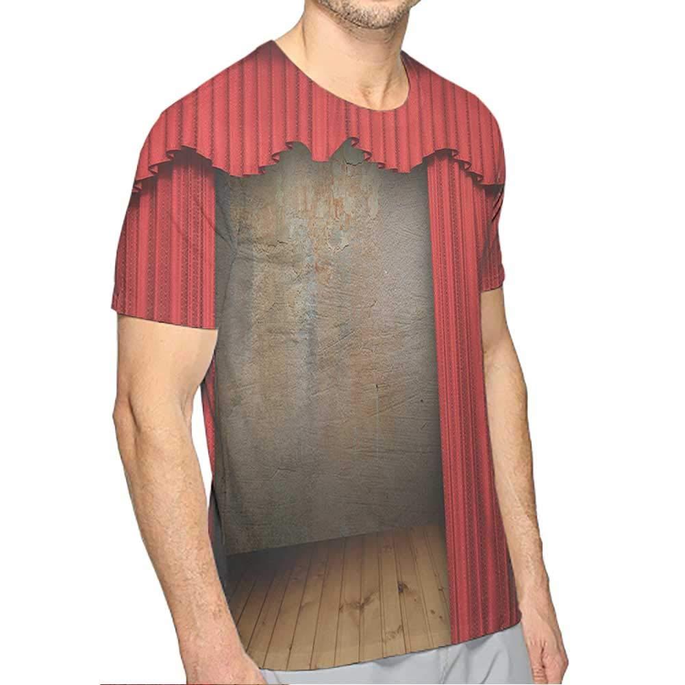 T-Shirt Funny Fashion Mens 3D Top Tees