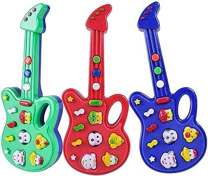 lā vestmon Niño multifunción Cartón animado guitarra Musical electrónica juguete (colores aleatorios): Amazon.es: Bricolaje y herramientas