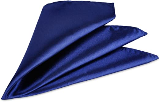 "BLACK Polyester Pocket Hankie-12/"" x 12/""/<With us/>More Squares U Buy/>More £ U Save"