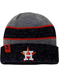 Authentic Houston Astros Heathered Gray/Heathered Navy On-Field Sport Knit Hat