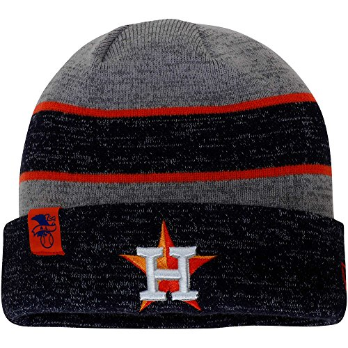 f99c259b14d New Era Authentic Houston Astros Heathered Gray Heathered Navy On-Field  Sport Kn.