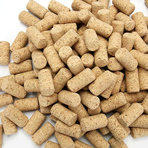 Tosnail 150 Pack #9 Blank Wine Corks Straight Corks Wine Stoppers - 15/16