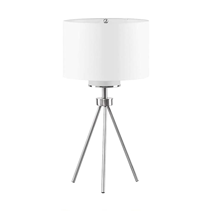 Pacific Tripod Metal Table Lamp Silver
