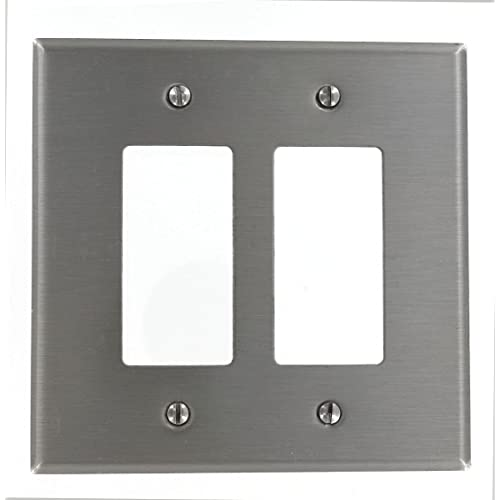 Metal Electrical Outlet Covers Oversized Outlet Covers: Oversized Outlet Cover: Amazon.com