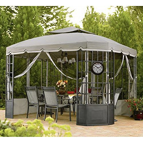 Sunjoy Replacement Canopy set (Deluxe)  for Bay Window Gazebo