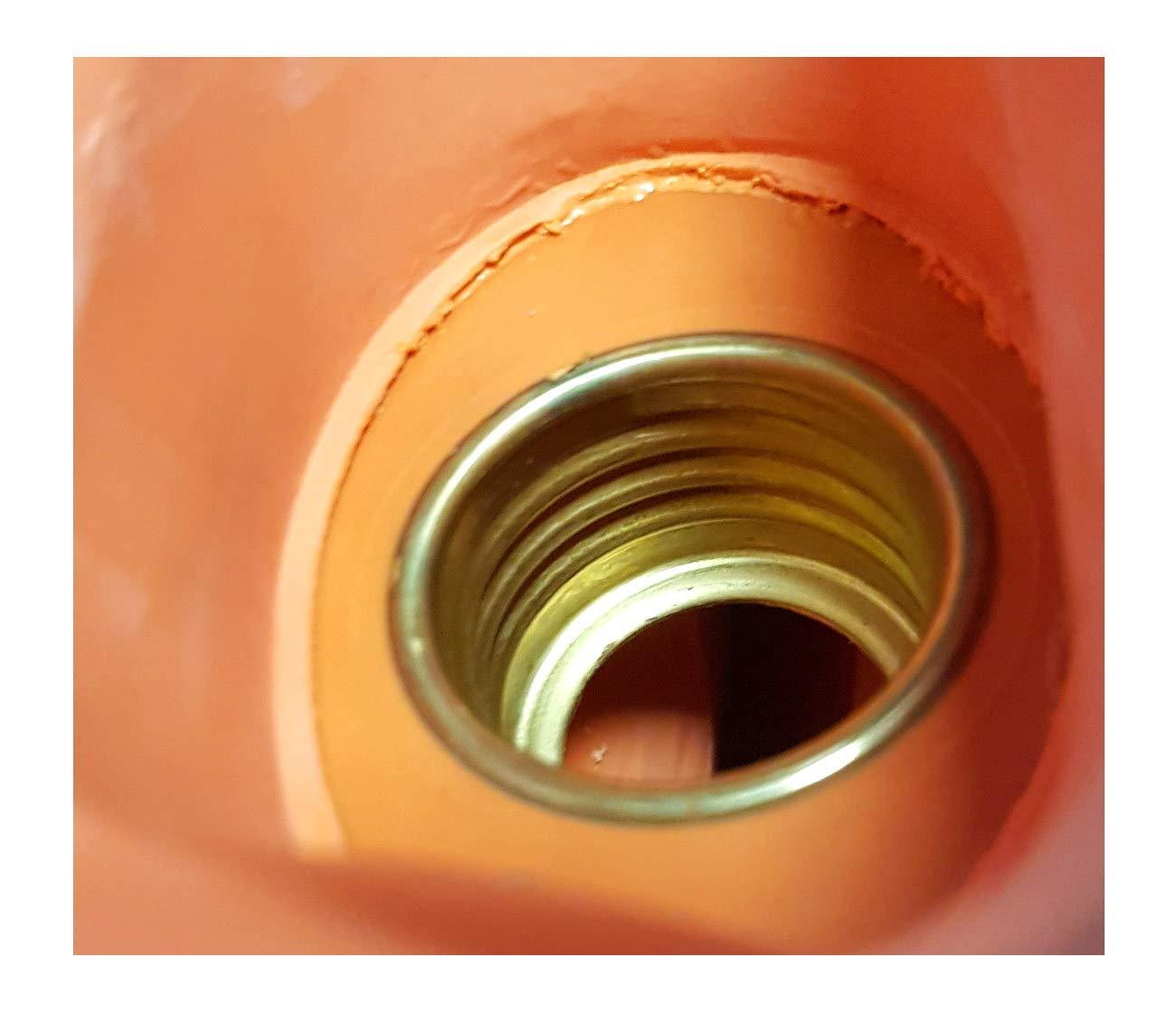 Ersatzverschluss Schraubverschluss f/ür W/ärmflaschen mit Messinggewinde Verschluss f/ür W/ärmeflaschen