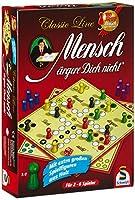 Schmidt Spiele 49085 - Classic Line: Mensch ärgere Dich nicht mit extragroßen...
