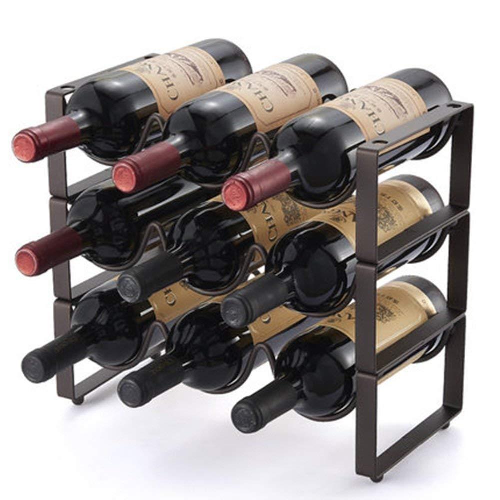 BMY ラッククリエイティブワインフロアワイン(カラー:A) B07QQWMV6R A