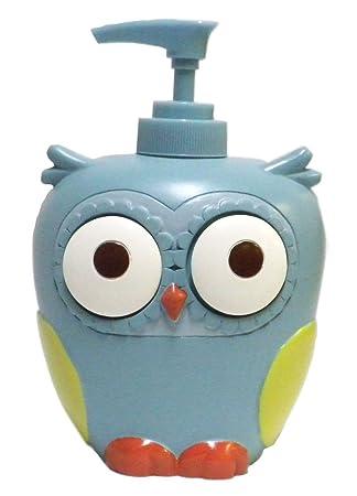 Amazon.com: Hooty Bathroom Collection-Colorful Hoot Owl Bath ...