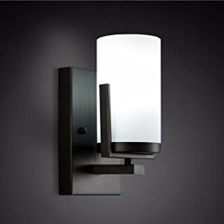 luminousky New Wall lamp Country Aisle Living Room Bedroom Room Hotel Lamps White Light Bedside lamp