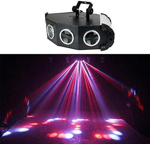 HDZWW Luces de Fiesta activadas por Sonido Iluminación de DJ, RBG ...