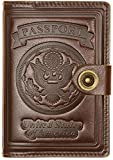 Villini - Leather RFID Blocking US Passport Holder Cover ID Card...
