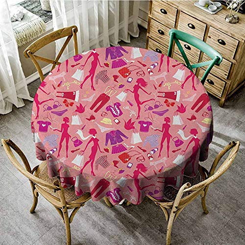 Polyester round tablecloth 67