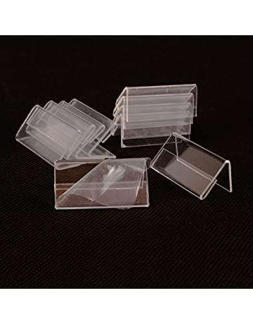 10 X Boitiers En Plastique Transparent Pour Carte De Visite 95 60 35 Mm Jusqu 125 Cartes Par Bote