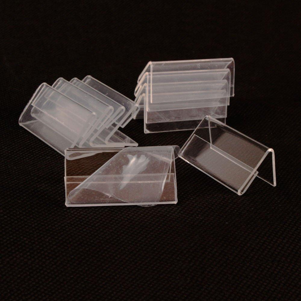 Precio de la etiqueta de la etiqueta de la tarjeta del precio del sostenedor de la exhibici/ón de la muestra de Earlywish 50pcs los 4cm los x 2cm