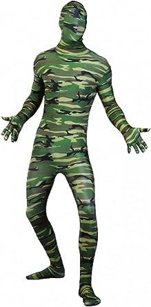 Islander Fashions Adult Skinz Body de Camuflaje Disfraz Uniforme ...