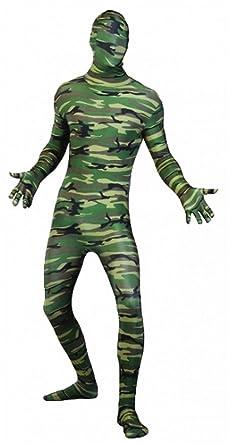 Islander Fashions Adult Skinz Body de Camuflaje Disfraz ...