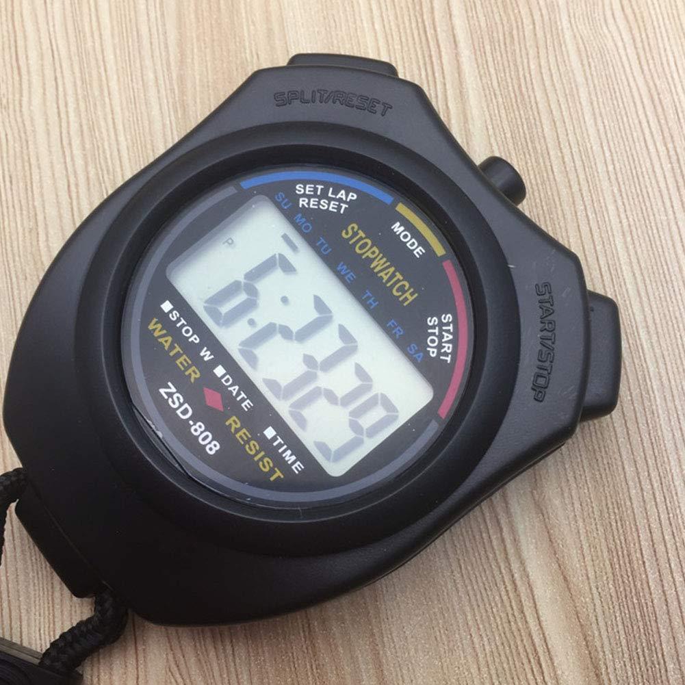 TOPFAY Cronometro Digitale Cronometro Sport con collari