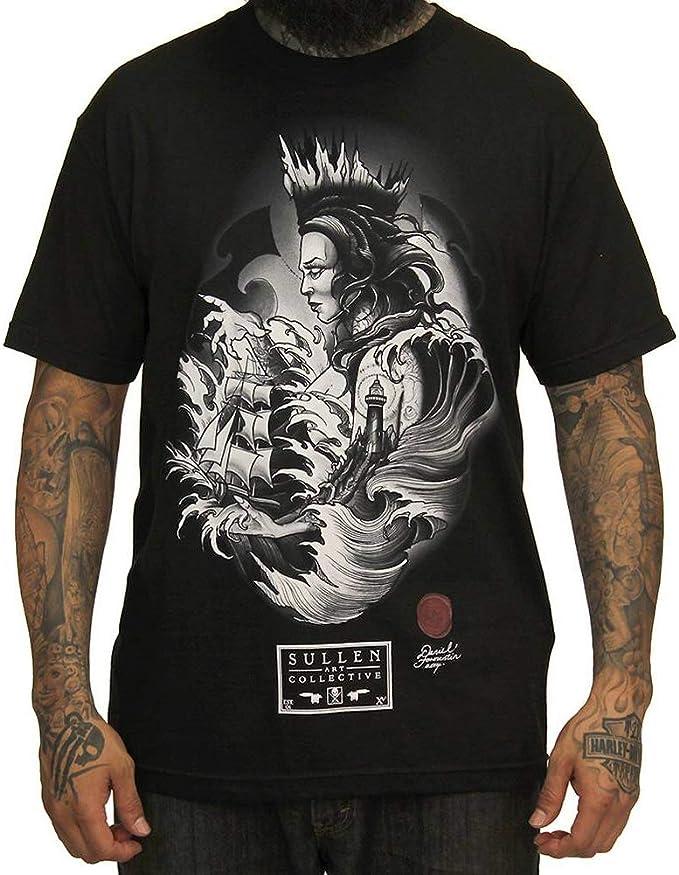Sullen Daniel Formentin - Camiseta para hombre (talla 4XL), color negro: Amazon.es: Ropa y accesorios